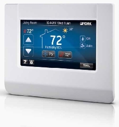 Thermopompe, Thermostat York Affinity